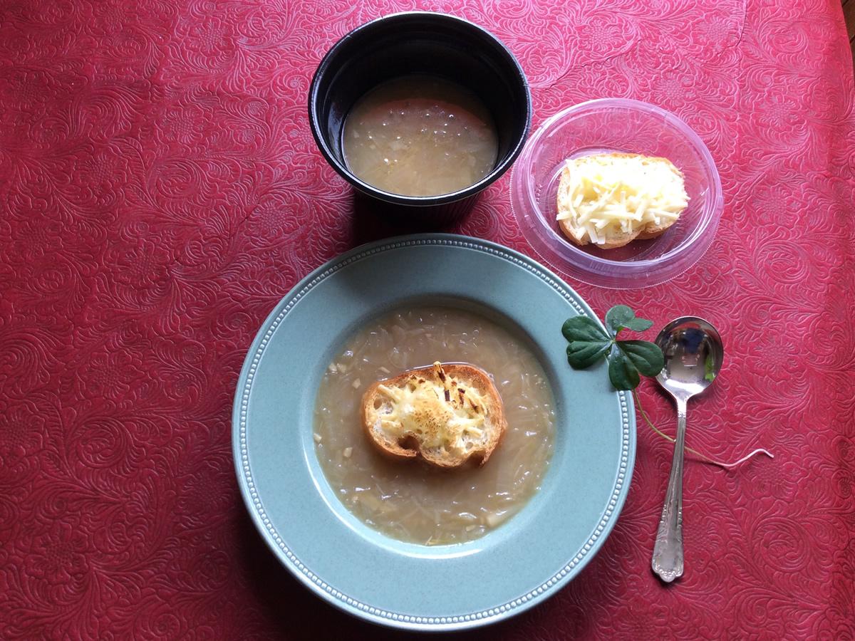 ジャンボオニオングラタンスープ キット